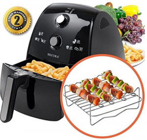 secura electric oil less fryer