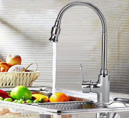 360 Rotatable Hot and Cold Water Kitchen Sink Faucet