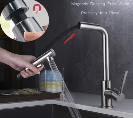 Pull Out Kitchen Sink Faucet, SURNORME