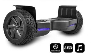 CHO All Terrain Black Rugged 8.5 Inch Hoverboard