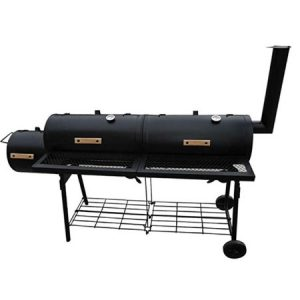 Festnight Offset Smoker BBQ Nevada Black