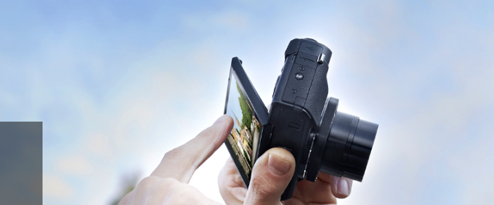 best canon camera with flip screen