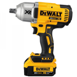 Dewalt 20v max impact wrench kit