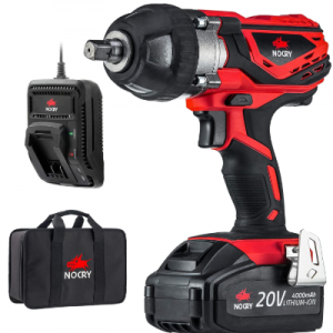NoCry 20v Cordless impact Wrench for automotive