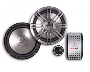 Polk Audio DB6501 car speakers for bass and sound quality